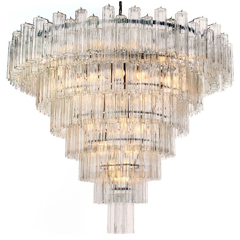 Monumental Venini Eight-Tiered Chandelier | From a unique ...
