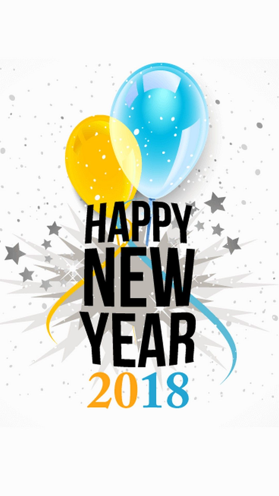 happy new year 2018 iphone wallpaper best iphone wallpaper