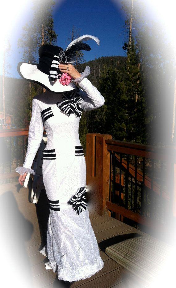 My Fair Lady Ascot Audrey Hepburn dress on Etsy, $350.00