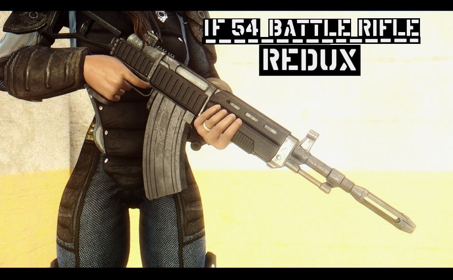 IF-54 Battle Rifle REDUX at Fallout 4 Nexus - Mods and community | 2
