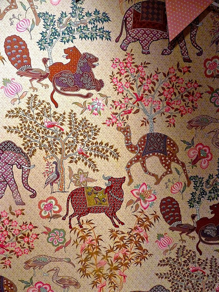 Pierre Frey Wallpaper Mauritius Fabric wallpaper, Pierre