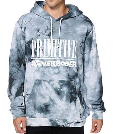 3c51e2240 Primitive Never Sober Tie Dye Hoodie | sexy in 2019 | Tie dye hoodie ...
