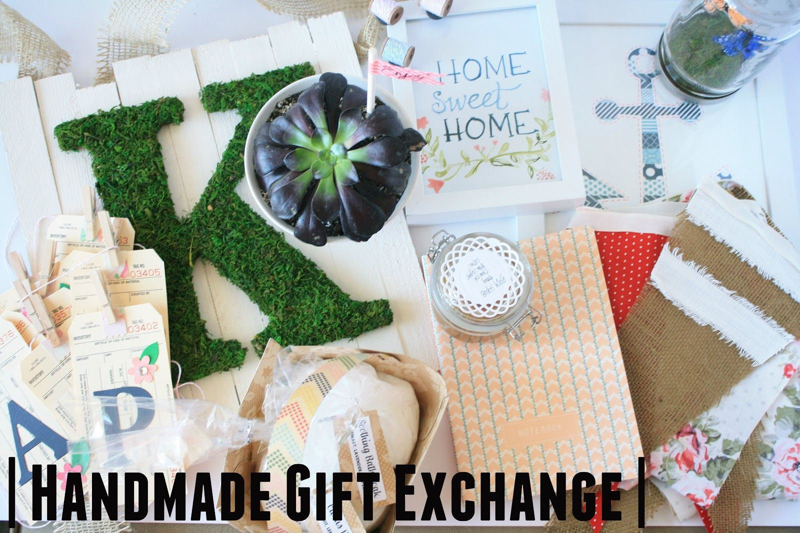 Spring Handmade Gift Exchange from Kirsten Krason at 6th Street Design School