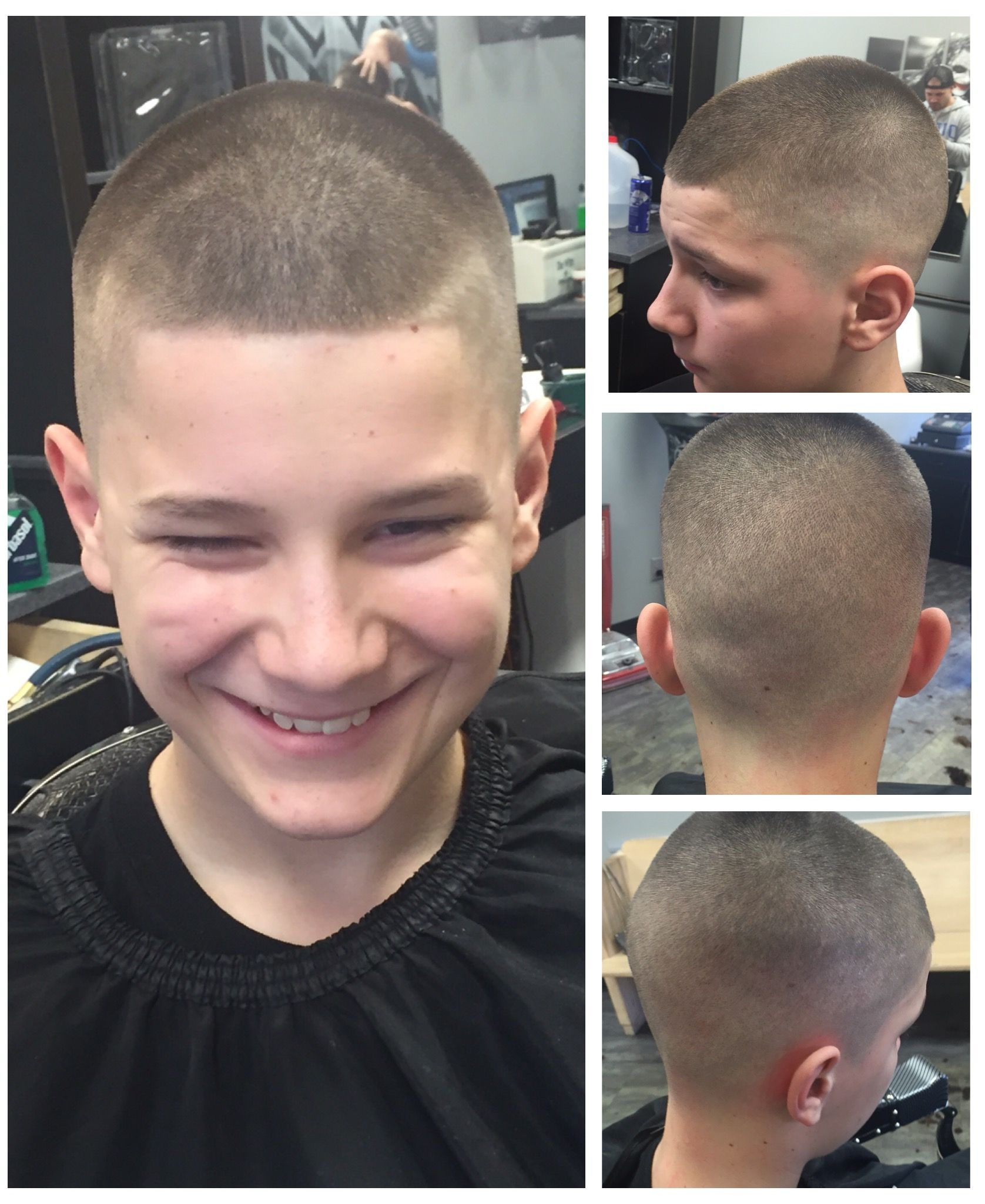 fade haircut i did at ellet barber shop in akron, ohio