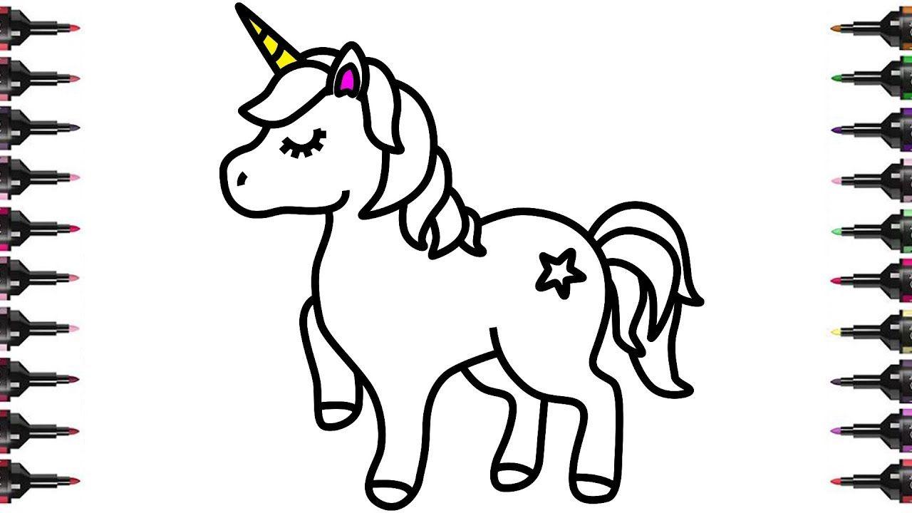 Los Mas Lindos Dibujos De Unicornios Para Colorear Y Pintar A Todo Color Imagenes Prontas Para De En 2020 Dibujos De Unicornios Unicornio Bonito Paginas Para Colorear