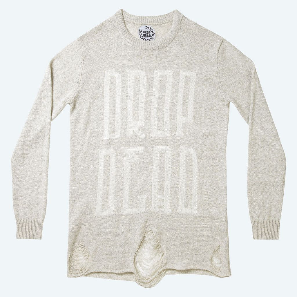 Totem Knitted Sweater | DROP DEAD | くたばる | My Style | Pinterest ...