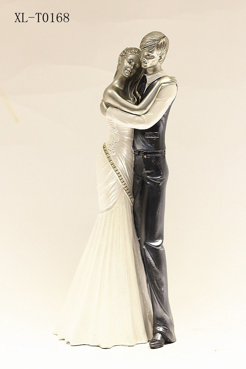 Newly Married Romantic Dancing Couple Showpiece And Gift Article