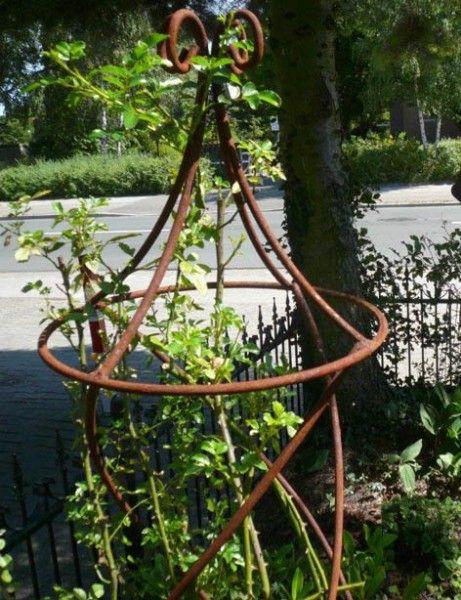 edelrost rankhilfe obelisk garten pinterest edelrost. Black Bedroom Furniture Sets. Home Design Ideas