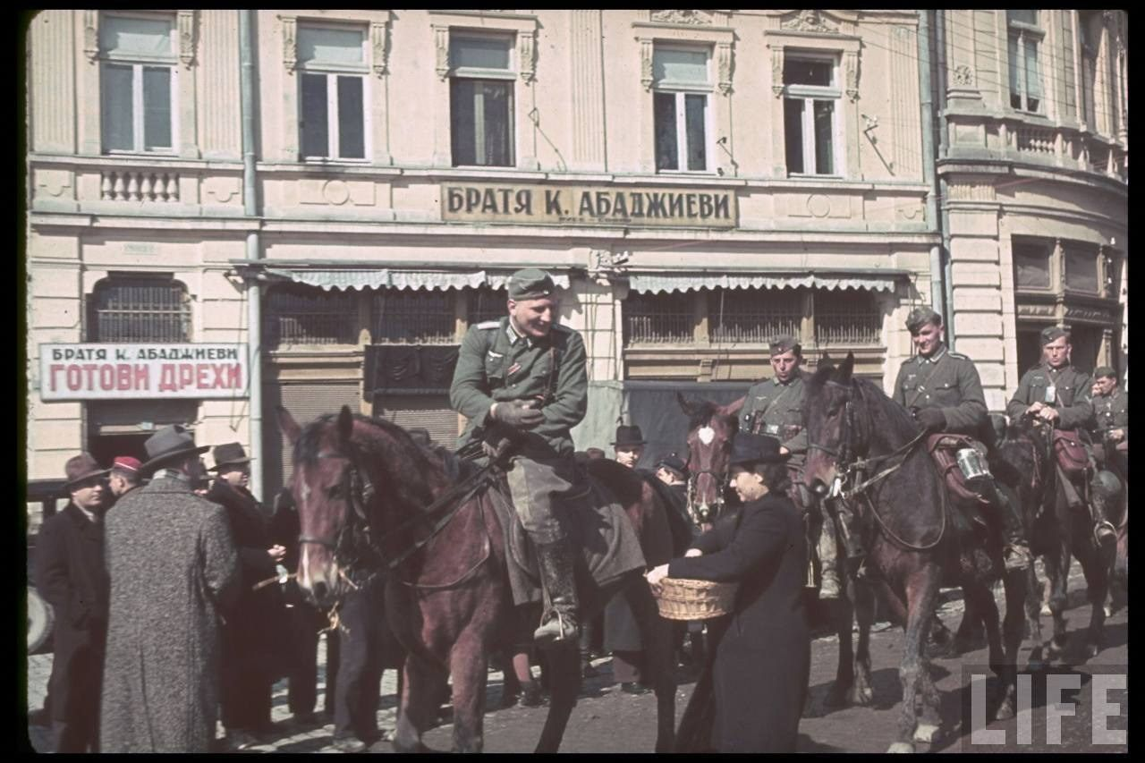 LIFE - WWII Nazi's in colour. TONS of awesome photos that invoke the imagination