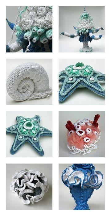 http://hellejorgensen.typepad.com SEA CREATURES | ~⌘~Crochet ...