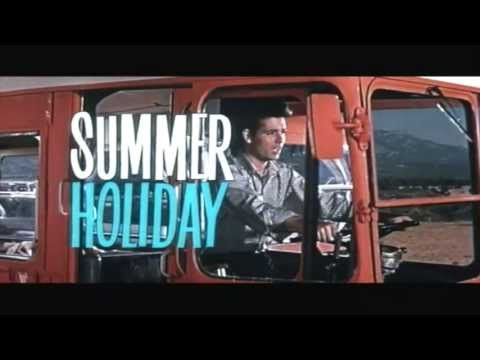 Summer Holiday Trailer 1963 Movie With Cliff Richard The Shadows Youtube Holiday Trailer Summer Holiday Holiday