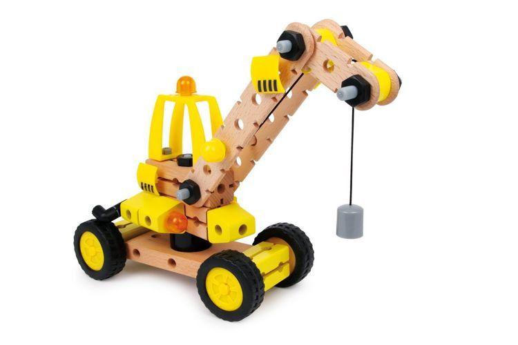 Dzwig Do Samodzielnego Montazu Zabawki Zabawki Drewniane Zabawki Samochody Garaze Pojazdy Pojazdy Do Skladania Zabawki Wooden Toys Kids Toys Toy Car