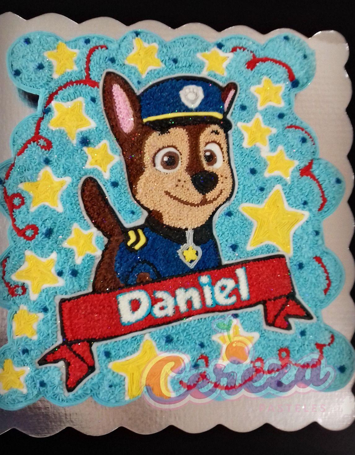 Chase Paw Patrol Cupcake Cake Paw Patrol Cupcakes Cupcake Cakes