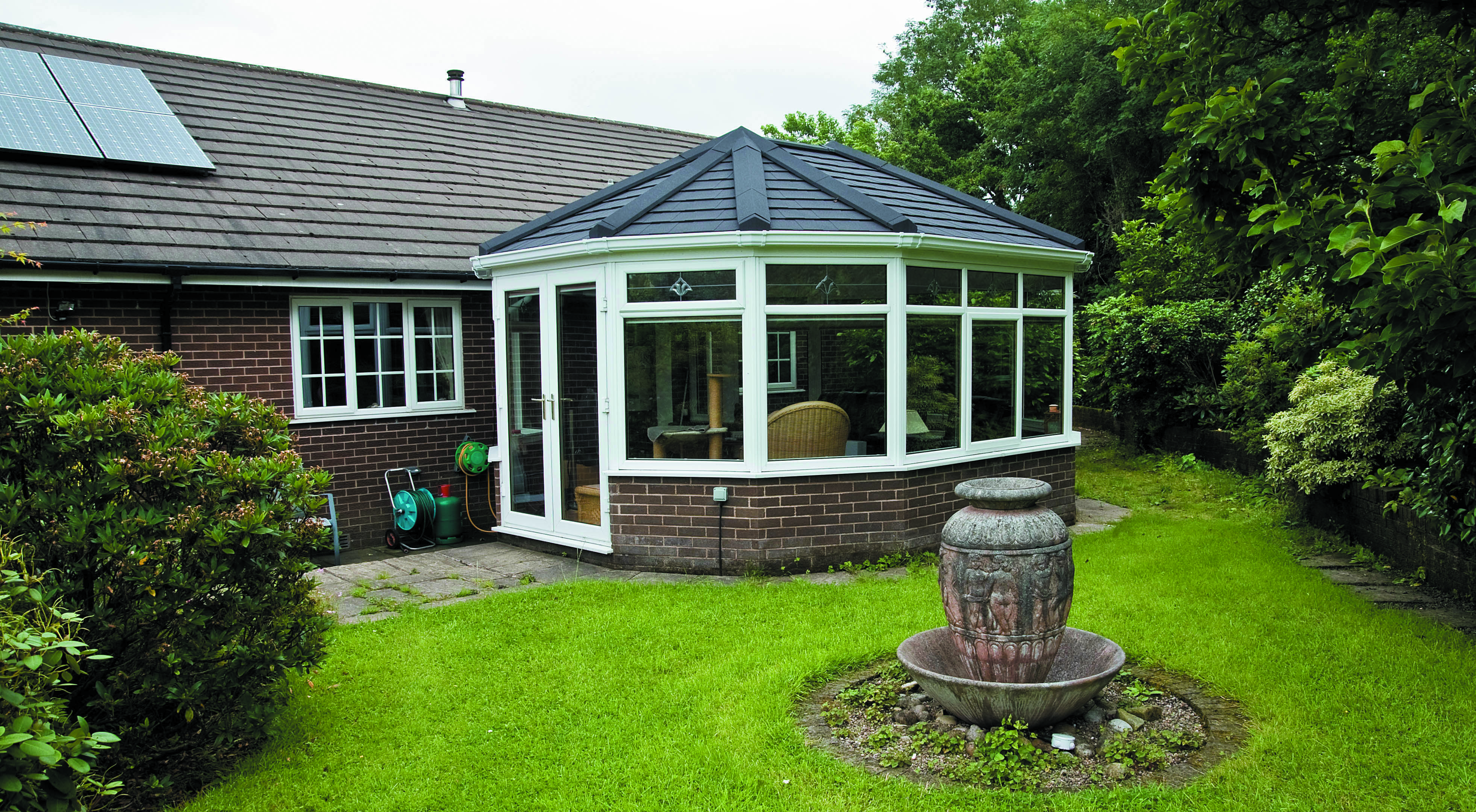Another Good Looking Conservatory Attached To A Bungalow