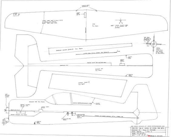 image result for indoor rc plane plans