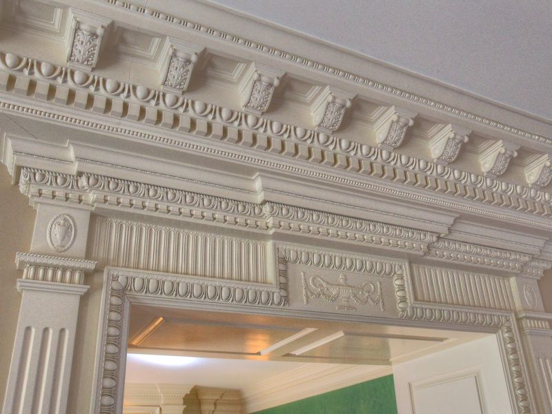 Intricate Crown Molding Expensive Houses Architectural