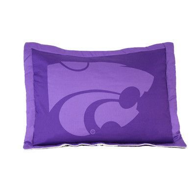College Covers NCAA Kansas State Pillow Sham