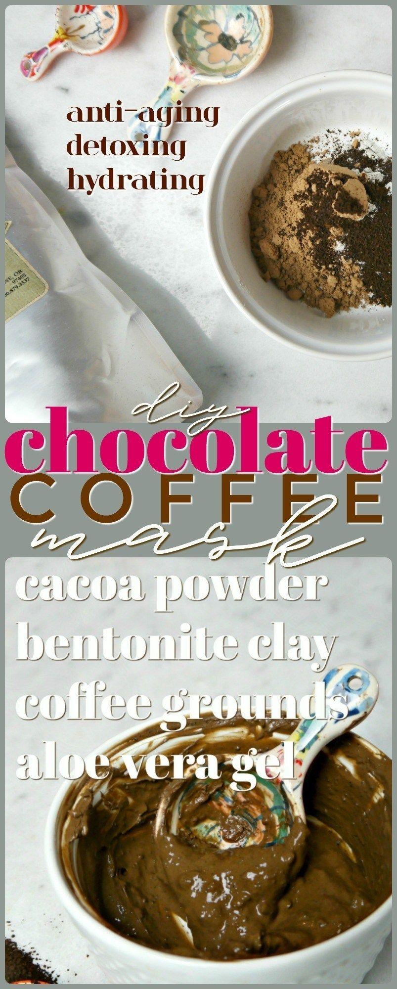 Diy chocolate coffee mask coffee mask chocolate coffee