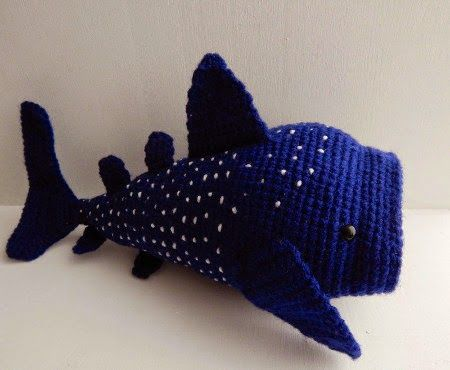 Free whale shark crochet pattern                                                                                                                                                                                 More