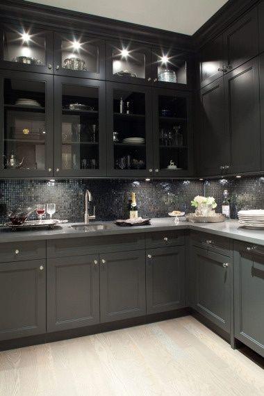 Black And Grey Kitchen Decor