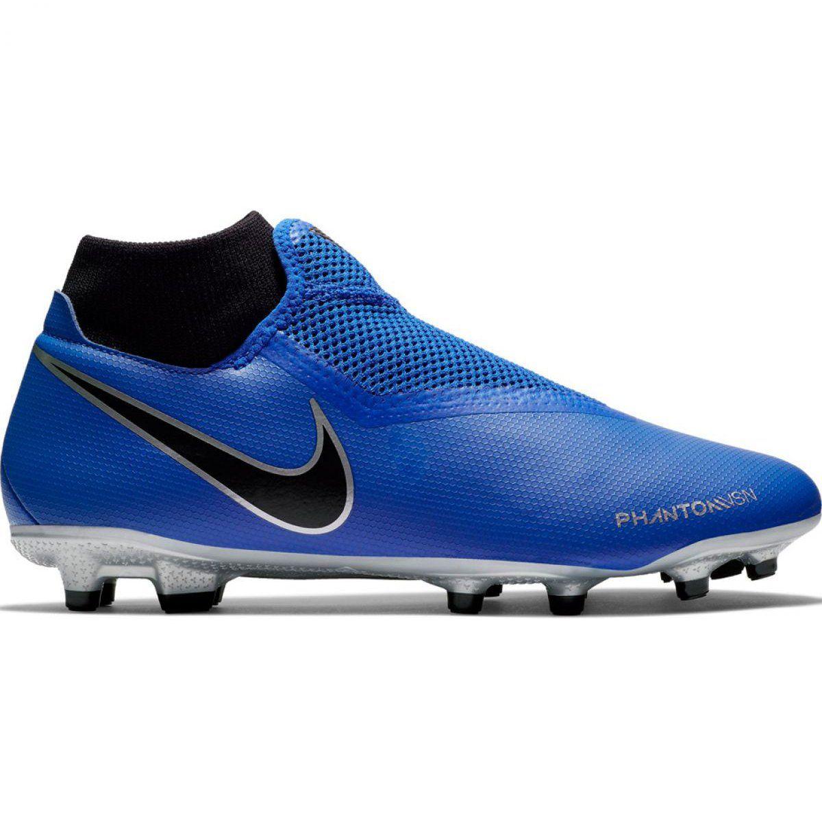 Corks Football Sport Nike Nike Phantom Vsn Academy Df Fg Mg M Ao3258 400 Football Shoes Black Football Shoes Phantom Vision Football Boots