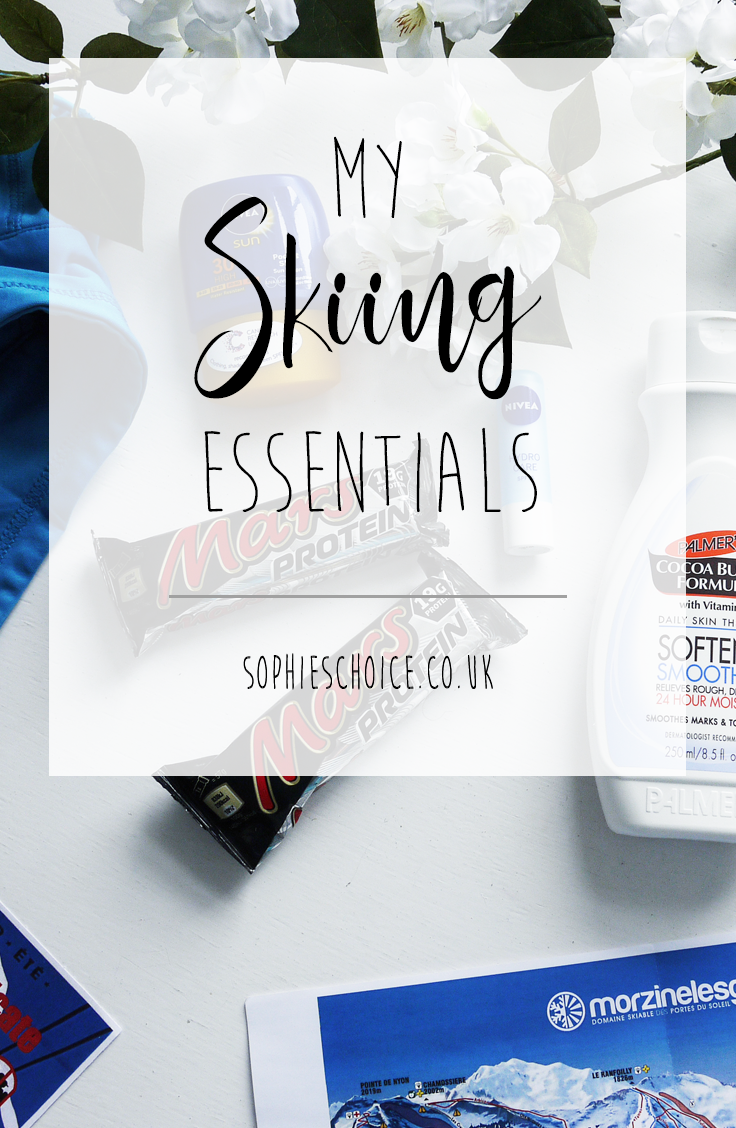 Ever wondered what us skiers pack when we go away? Check out what my skiing essentials are.