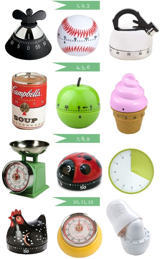 Kitchen Timers I Have Several Of These My Kitchen Loves