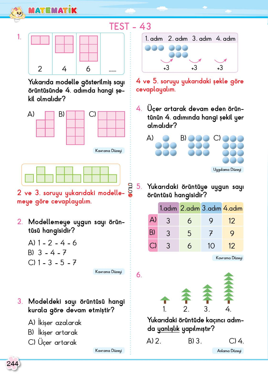 2 Sinif Soru Bankasi Tum Dersler Super Kitap Matematik Ogretim