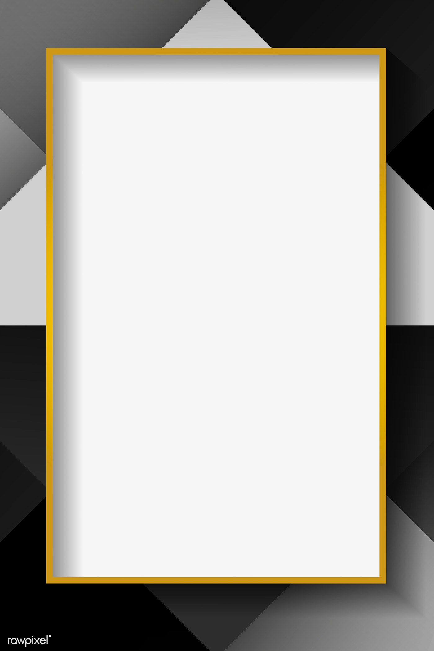 Download Premium Vector Of Blank Rectangle White Abstract Frame