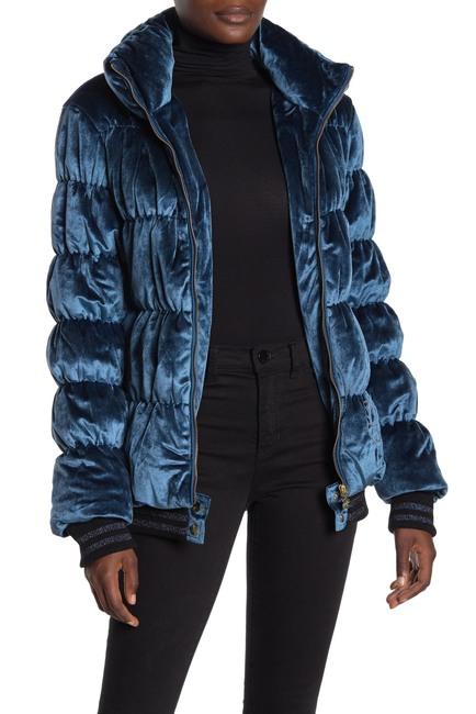 Desigual | Velvet Quilted Puffer Jacket #nordstromrack