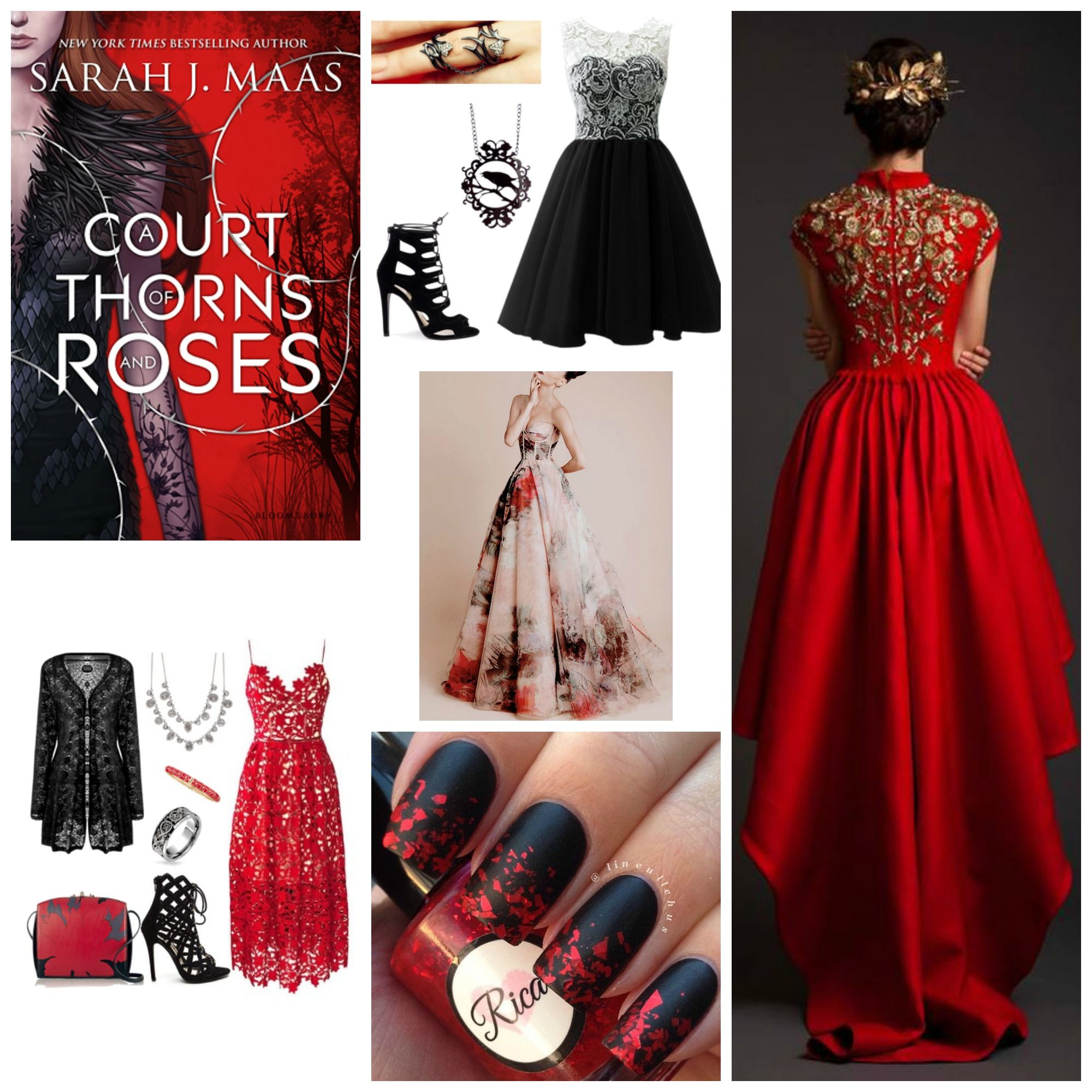 A Court Of Thorns Roses Vampire Dress Future Clothes