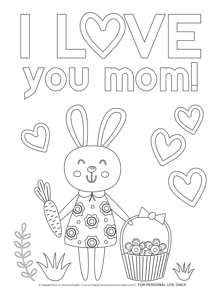 Mother S Day Coloring Pages Free Printables Mothers Day Coloring Pages Mom Coloring Pages Happy Birthday Coloring Pages