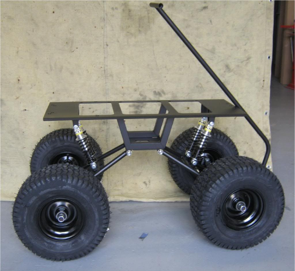 Off Road Wagon >> Full Suspension Bolt On Kit For Any Kid S Wagon Great