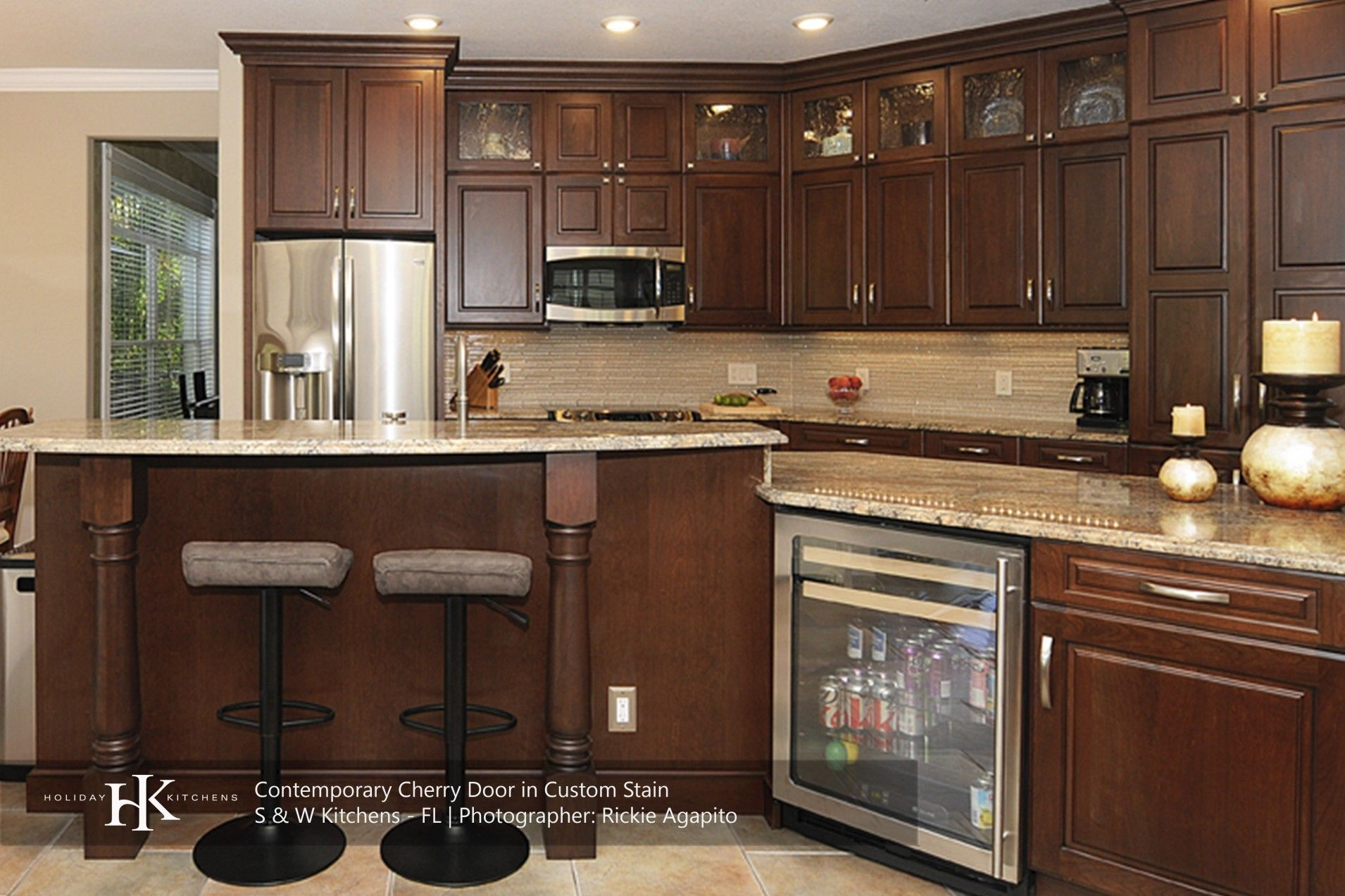 holiday kitchens rwh full access custom cabinetry is eco friendly