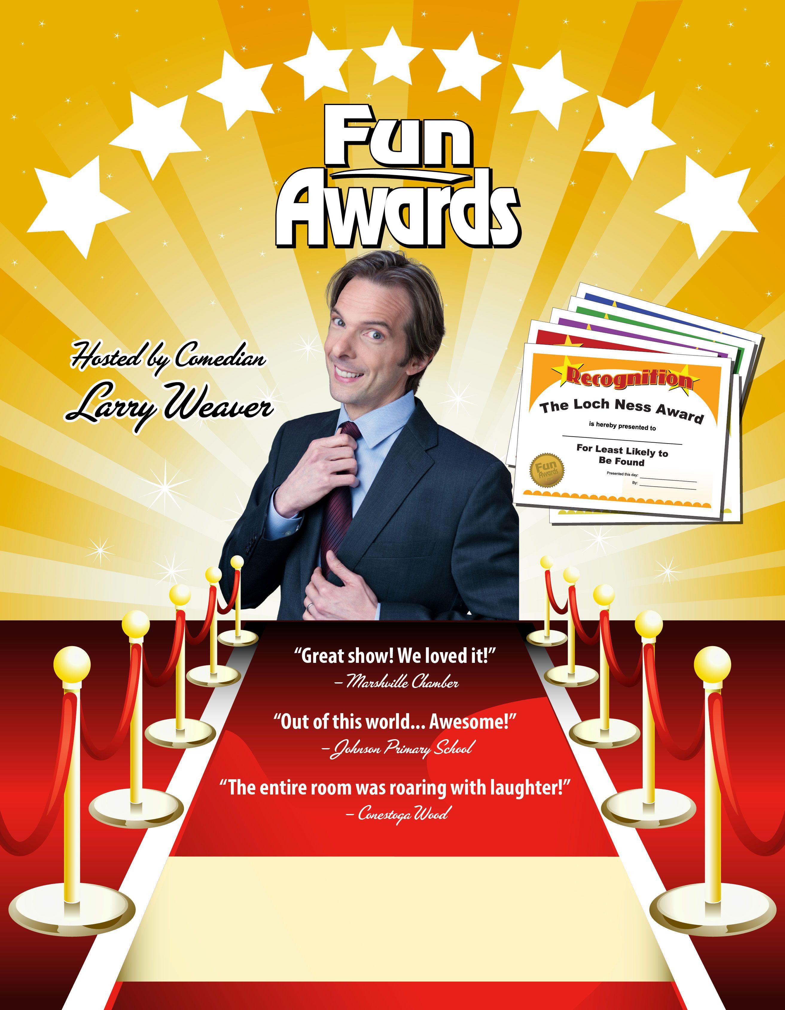 Funny Awards The Funny Employee Awards Show For Your Staff Funny Awards Funny Office Awards Funny Employee Awards