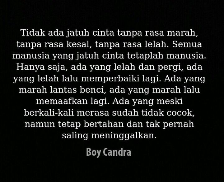 41 Boy Chandra Ideas Quotes Indonesia Quotes Indonesian Quotes