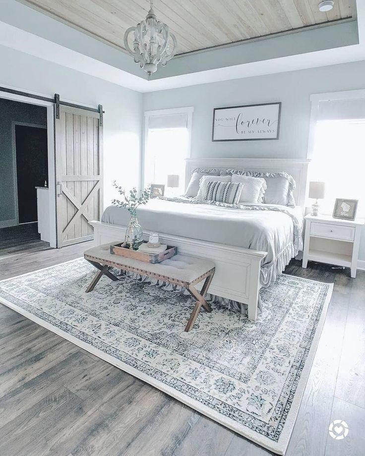 20+ idées de décoration de chambre à coucher principale magnifique