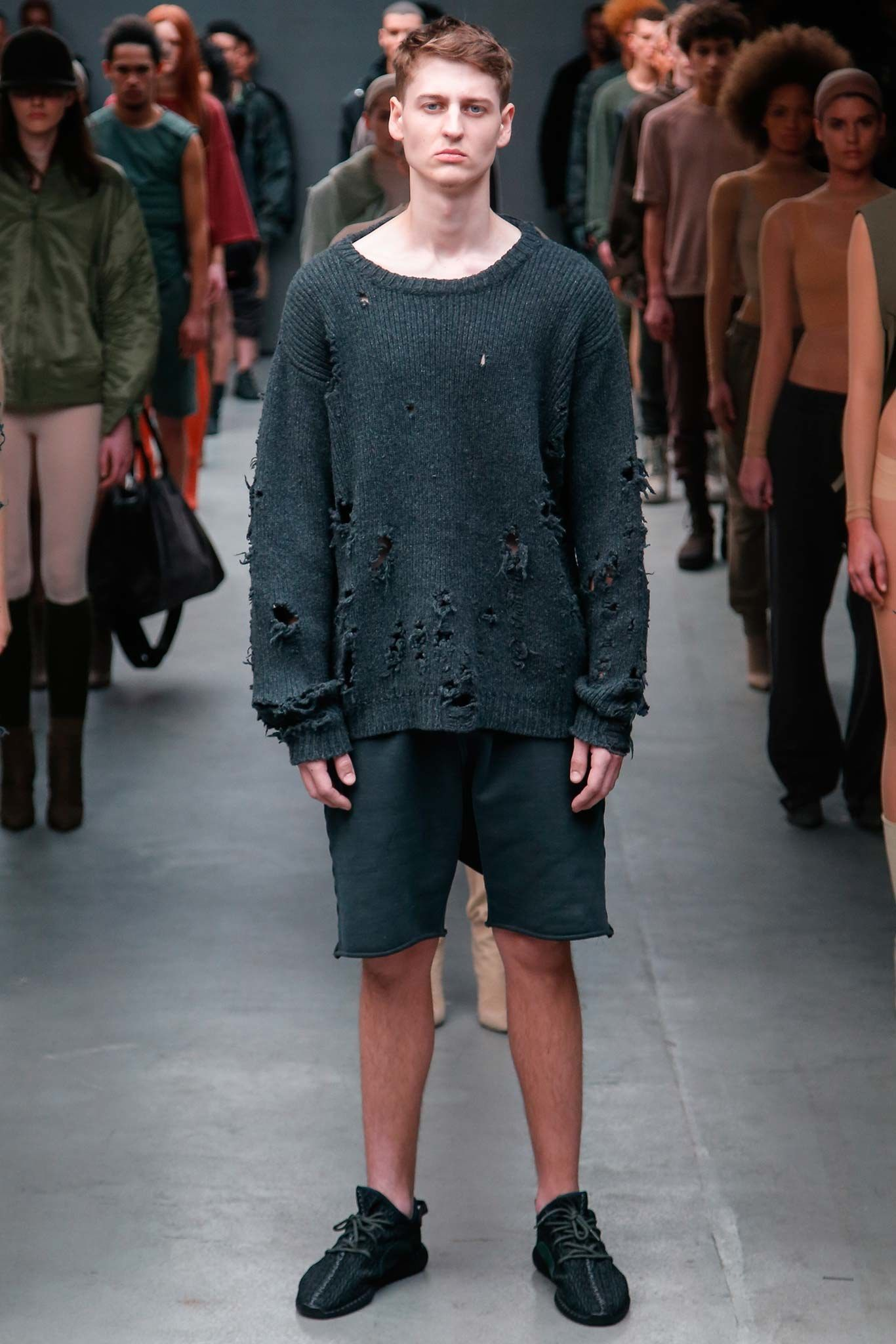 Yeezy Fall 2015 Ready To Wear Fashion Show Kanye West Street Styles Fur Herren Modestil