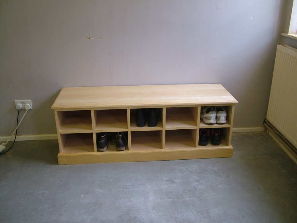 Shaker Style Shoe Rack Bench Other Items Country Shaker