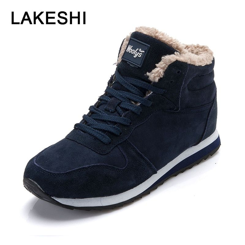 Men/'s Warm Ankle Boots Winter Boots Fashion Winter Snow Shoes Casual Walking