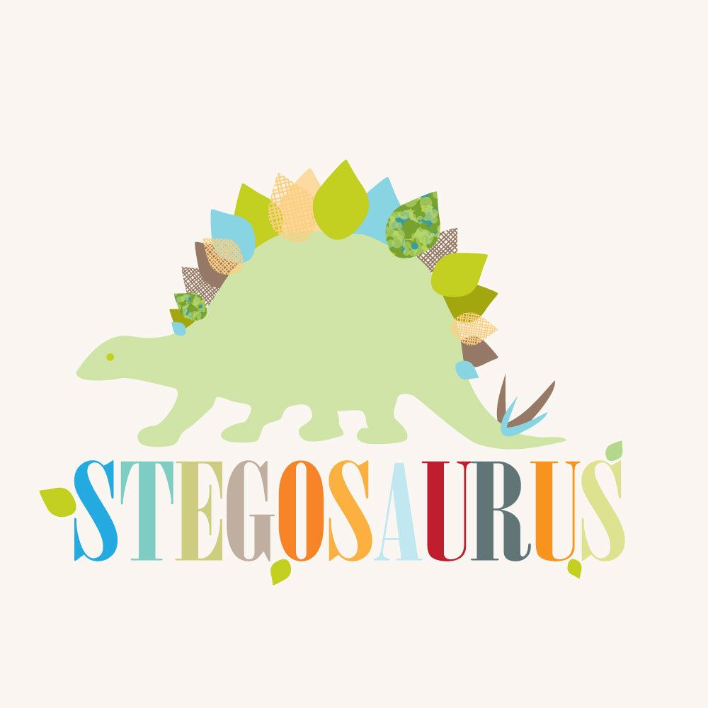 Stegosaurus Wall Art