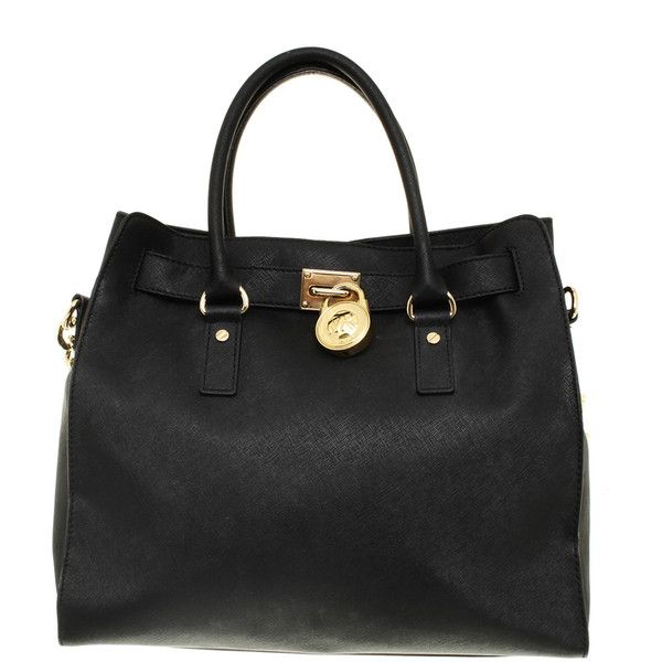 Pre-owned Handbag with chain trim (450 AUD) ❤ liked on Polyvore