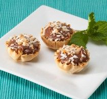 Hundreds of recipes with phyllo cups!