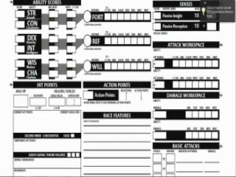 d&d character sheets - Google Search | character sheets