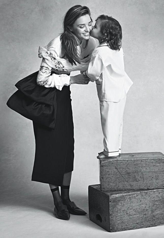 Miranda and his son