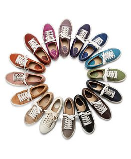 a rainbow of frye low tops
