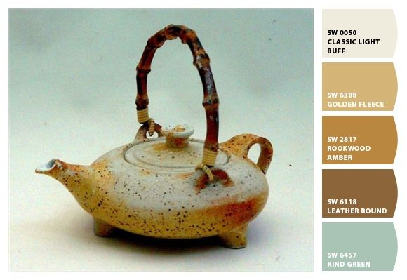 Paint Colors From Colorsnap By Sherwin Williams Tea Pots Ceramic Teapots Pottery Teapots