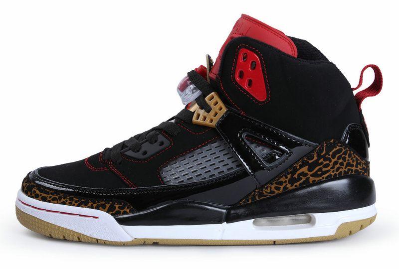 Air Jordan Spizike Black Varsity Red Stealth Shoes Sale: $65.24
