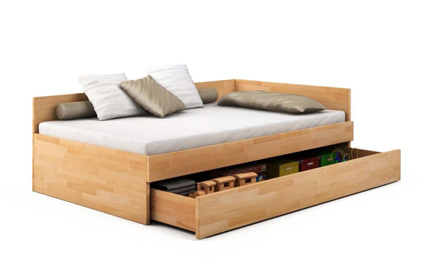 Bett Fiona 120x200 Bett Buche Tigre Massivholz Pv 120 X 200 Cm Nein For The Home