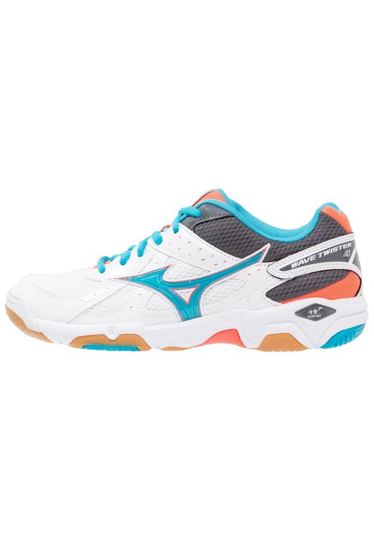 ee6ffa31e86 Cómpralo ya!. Mizuno WAVE TWISTER 4 Zapatillas de voleibol white ...